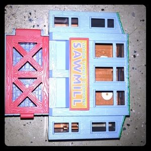 Thomas and Friends Sodor Timber Saw Mill
